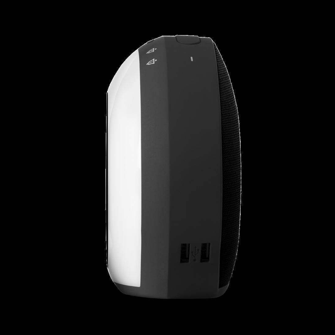 Horizon Bluetooth Speaker Alarm Clock Charger Wavemotion