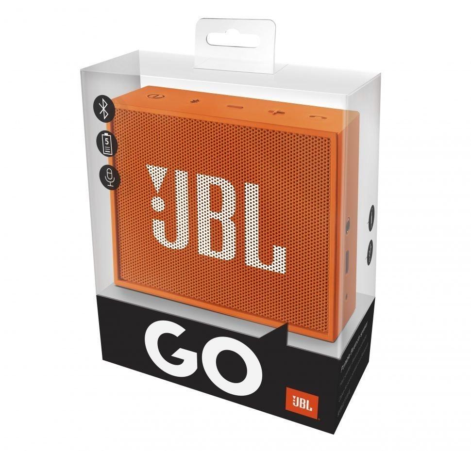 GO, Portable Bluetooth Speaker