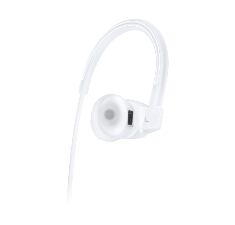 Wireless Heart Rate, In-Ear Sports Headphones 3-buttons Mic/Rem