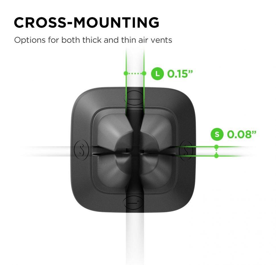iTap Mini Air Vent, Car Mount