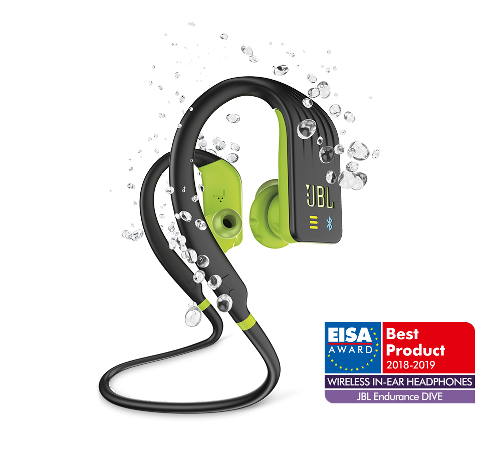 bc273bdb10a Endurance DIVE, Wireless/MP3 Sport Headphones, WaterProof ...