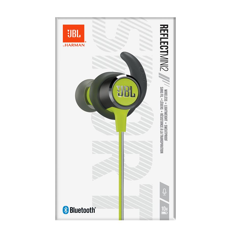 6d86241be12 Reflect Mini 2, Wireless Sport Headphones, 3-button Mic/Remote ...