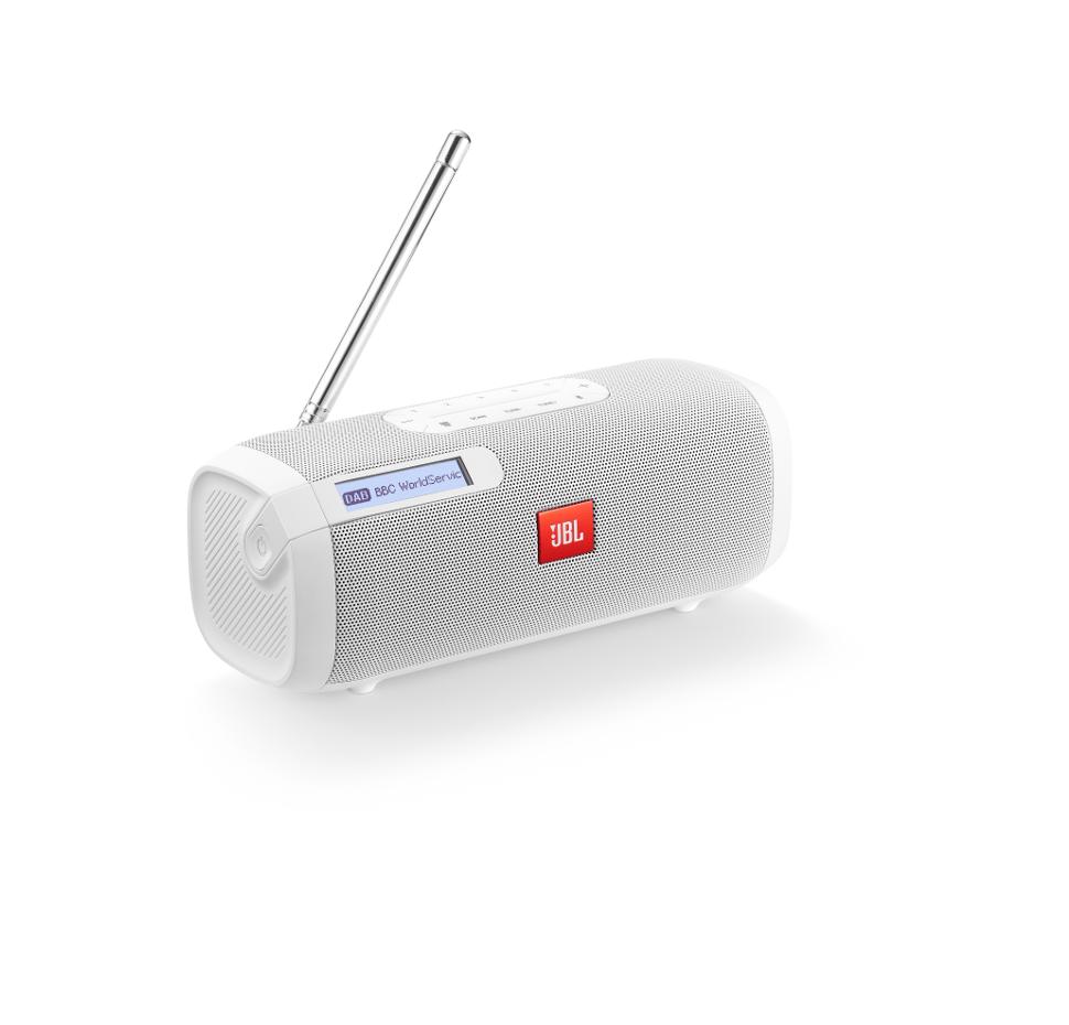 Tuner, Bluetooth Speaker with FM/DAB Radio (Black)