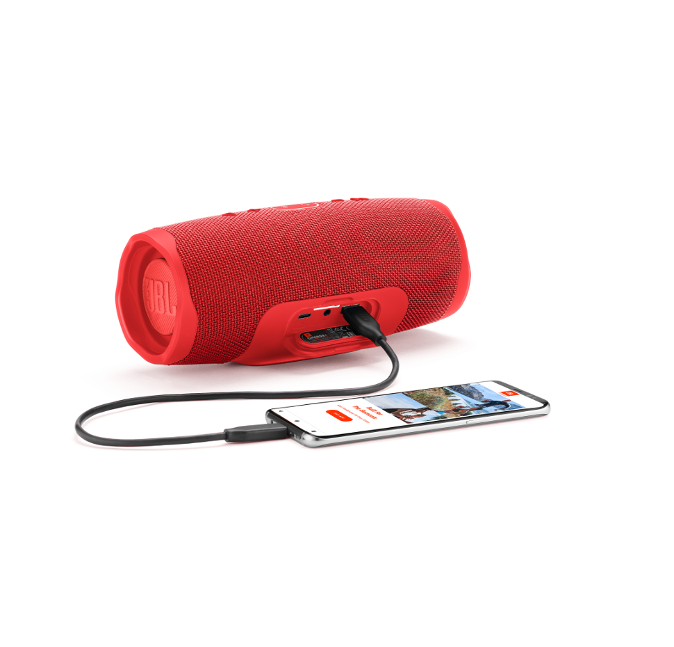 Charge 4, Bluetooth, Waterproof Speaker (IPX7) & Powerbank