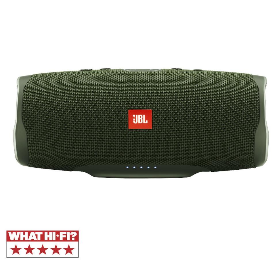Charge 4, Bluetooth, Waterproof Speaker (IPX7) & Powerbank