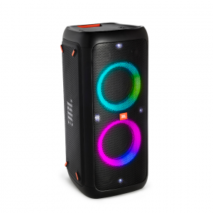 Partybox 200, Bluetooth Speaker with Mic/Guitar In & Light Effec