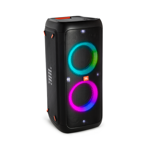 Partybox 300, Portable Bluetooth Speaker w Mic/Guitar In & Light