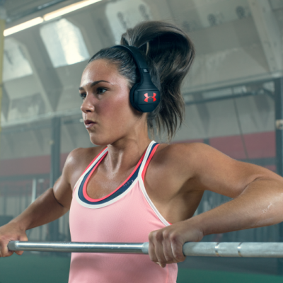 JBL UA Wireless Train Headphones with Talk Through Tec