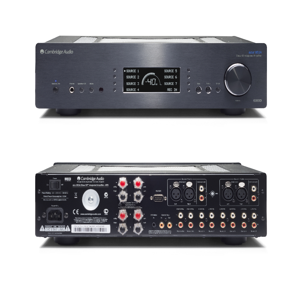 851A, Integrated Amplifier, Class XD 200W