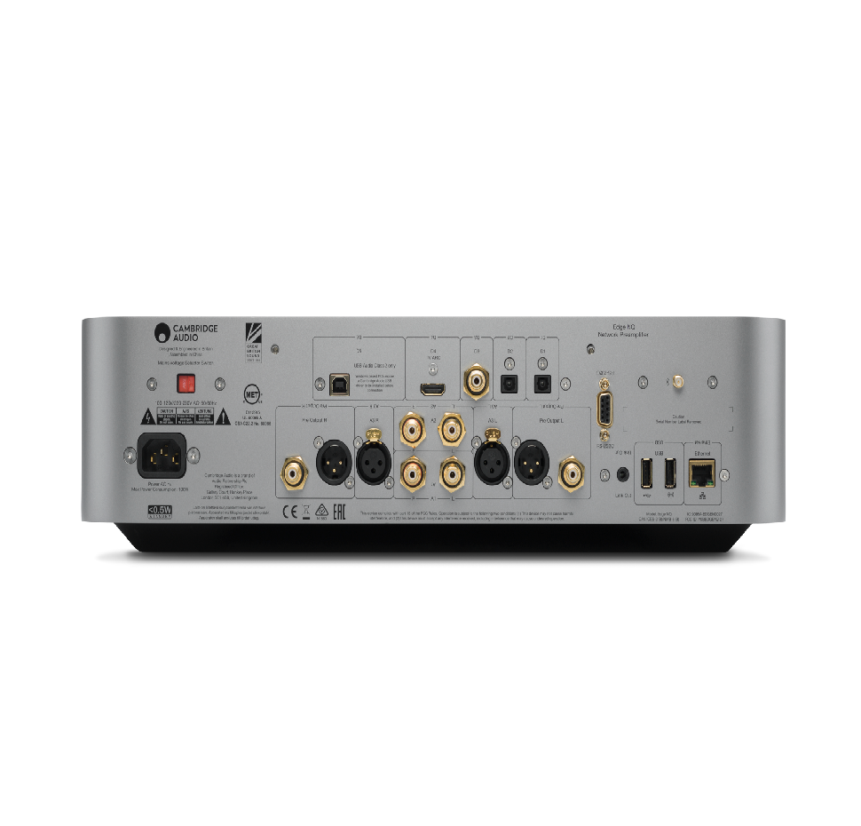 Edge NQ, Preamplifier, Network Pleyer