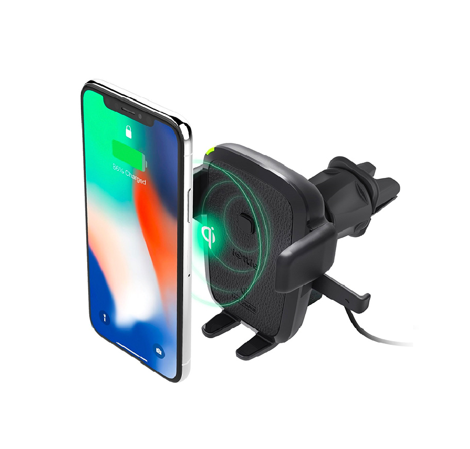 Easy One Touch Wireless, Fast Charging Vent Mount