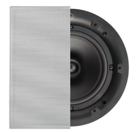 QI65S, Speaker, In-Ceiling, Square Grille