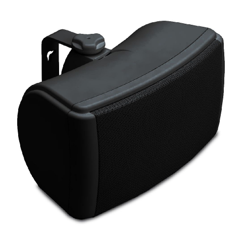 QI65EW Speaker, Weatherproof, On-Wall, Black