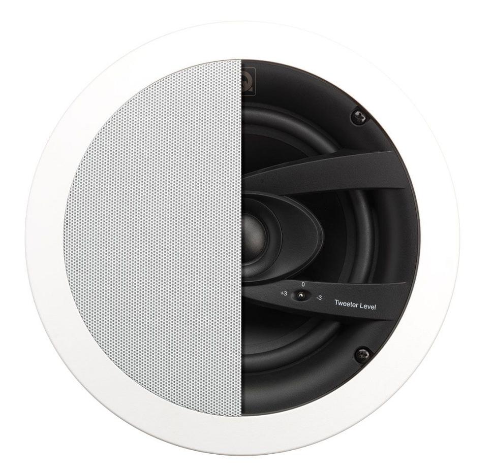 QI65CW, Speaker, Weatherproof, In-Ceiling, Circular Grille