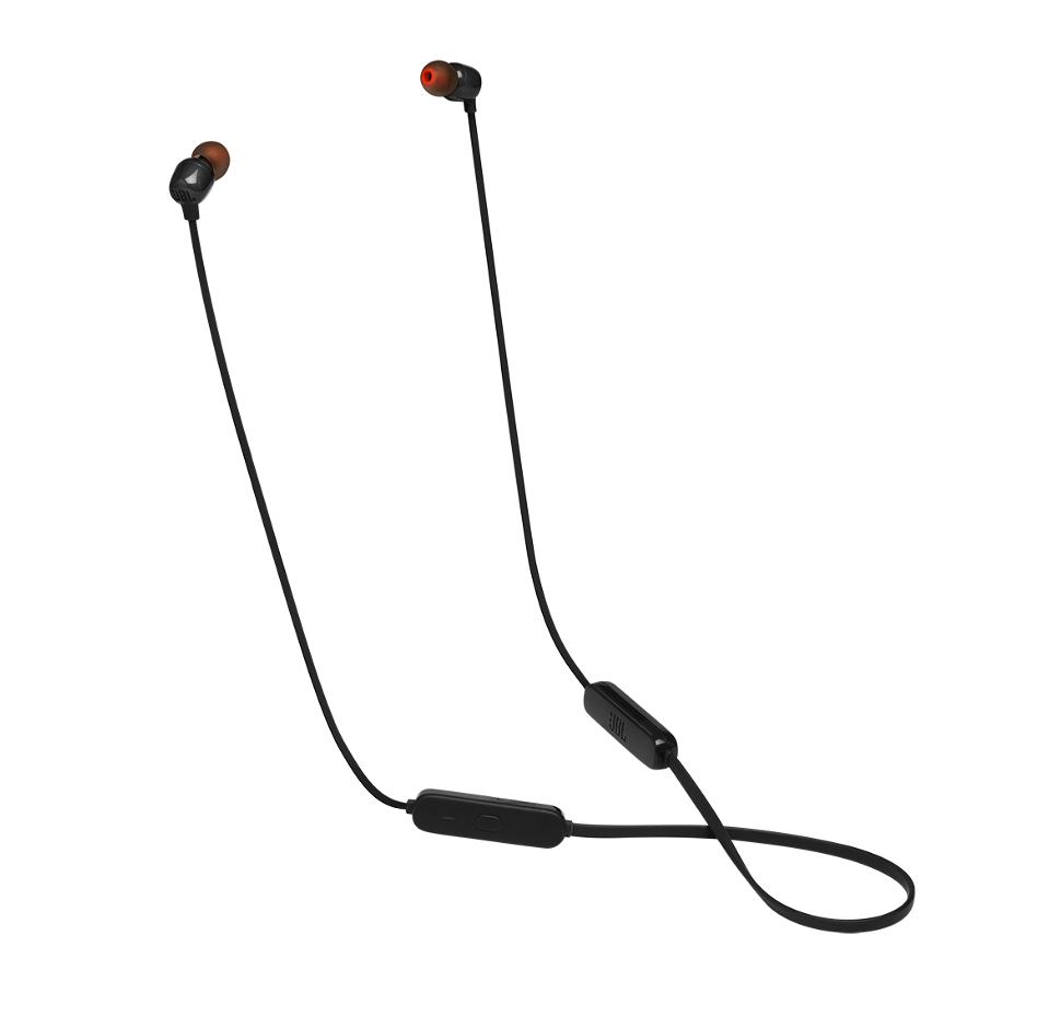 T160BT, InEar Bluetooth Headphones 3-button Mic/Remote