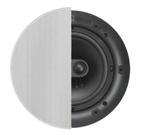 QI65C ST Stereo Speaker, In-Ceiling, Circular Grille