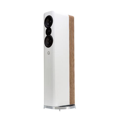 Concept 500, Floorstanding, (Gloss White & Light Oak)