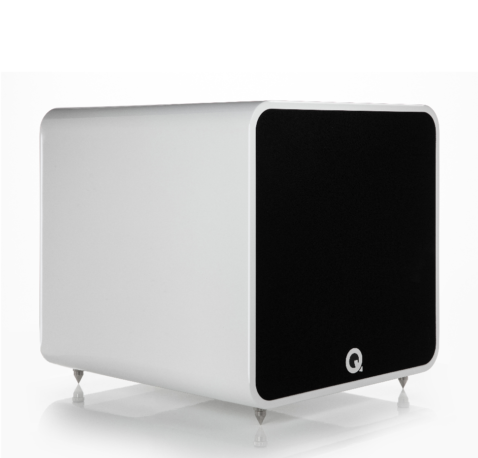 Q B12, Subwoofer, Gloss White