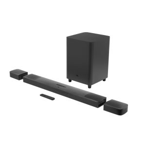 BAR 9.1 True Wireless Surround Soundbar, Dolby Atmos, Bluetooth