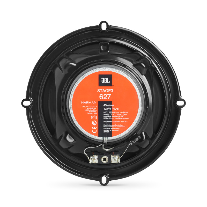 Stage3 627, Car Speakers, 6.5″ Coaxial