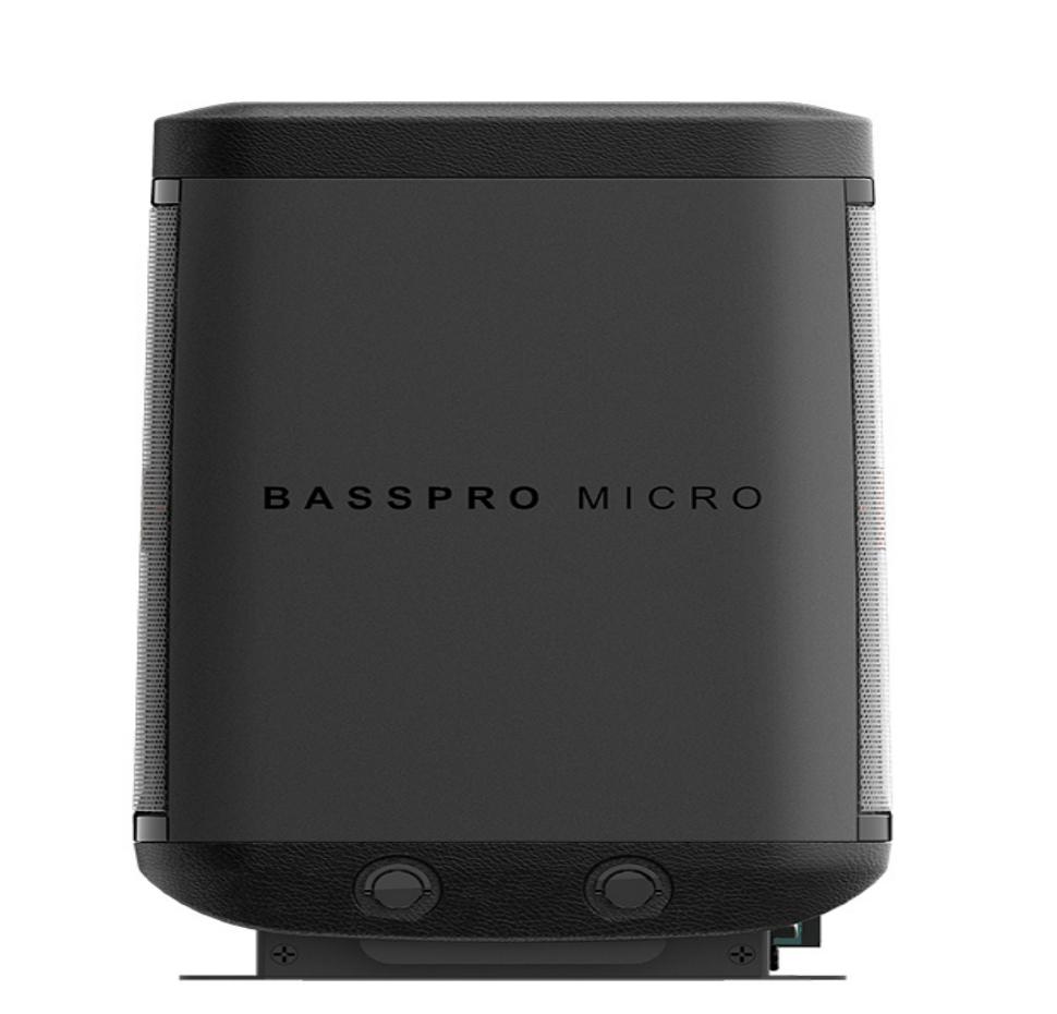 Basspro Micro, 8″ Active/Passive Subwoofer (Dockable)