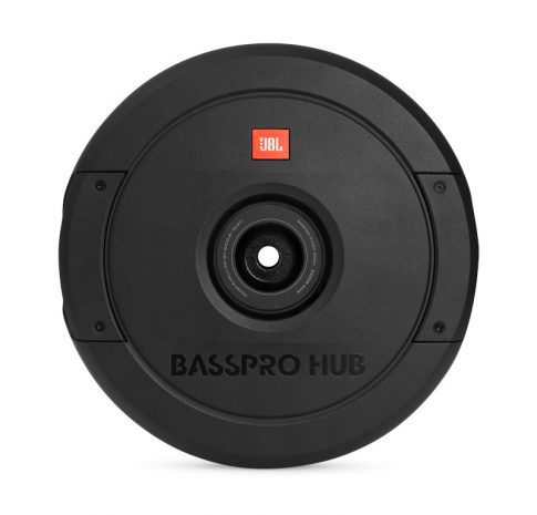 Basspro HUB, 11″ Active Subwoofer (Spare tire)