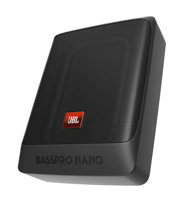 Basspro Nano, 6″x8″ Underseat Powered Subwoofer