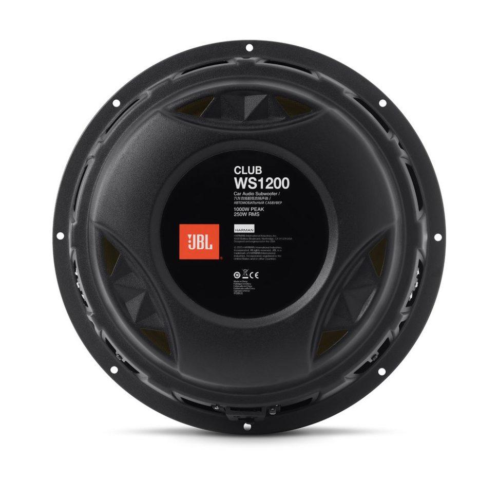 Club WS1200, Car Speaker, Subwoofer Slim, 12″