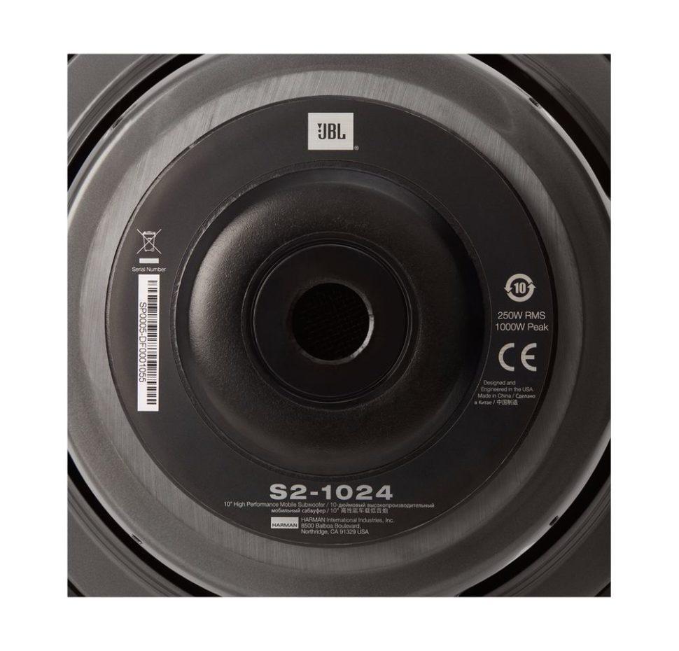 S2-1024, Car Speaker, Subwoofer, 10″