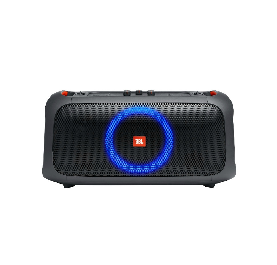 Partybox On The Go, Compact Bluetooth Party Speaker, Stap, Mic