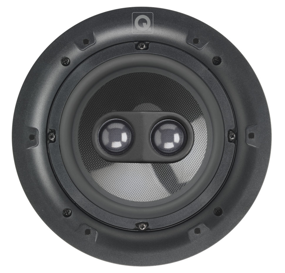QI65CP ST, Stereo Performance Speaker, In-Ceiling, Circular Gril