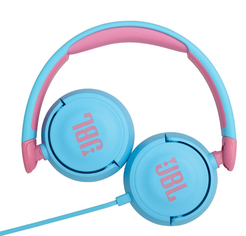 JR310, On-Ear Headphones for Kids, Universal, Safe Listening