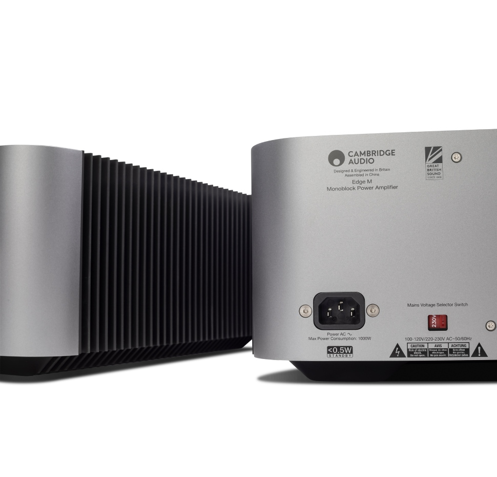 Edge M, Mono Block Power Amplifier, 350W