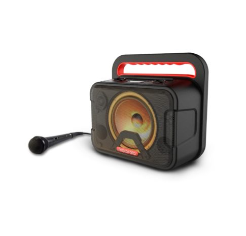 Sonic Maxx 810, Wireless Portable Party Speaker with Mic, IPX4