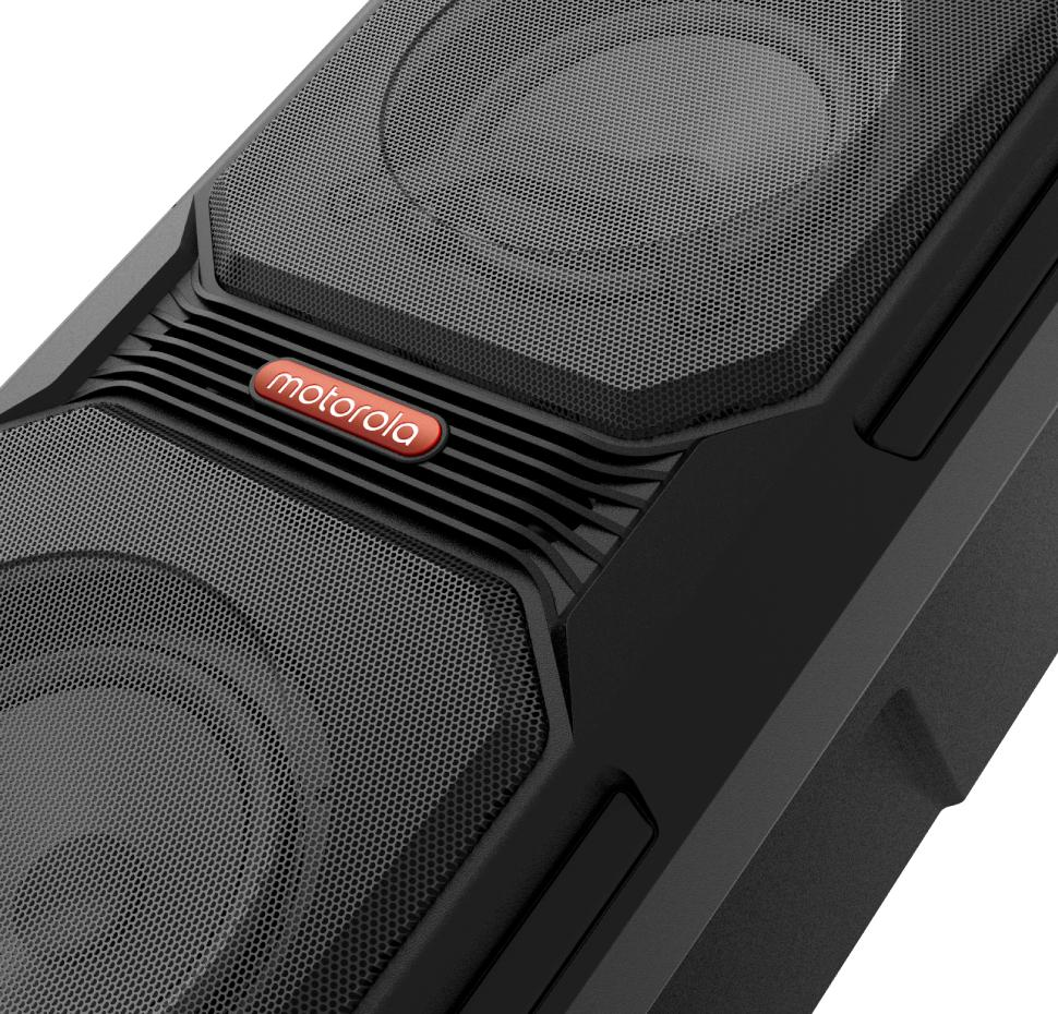 Sonic Maxx 820, Wireless Portable Party Speaker with Mic, IPX4
