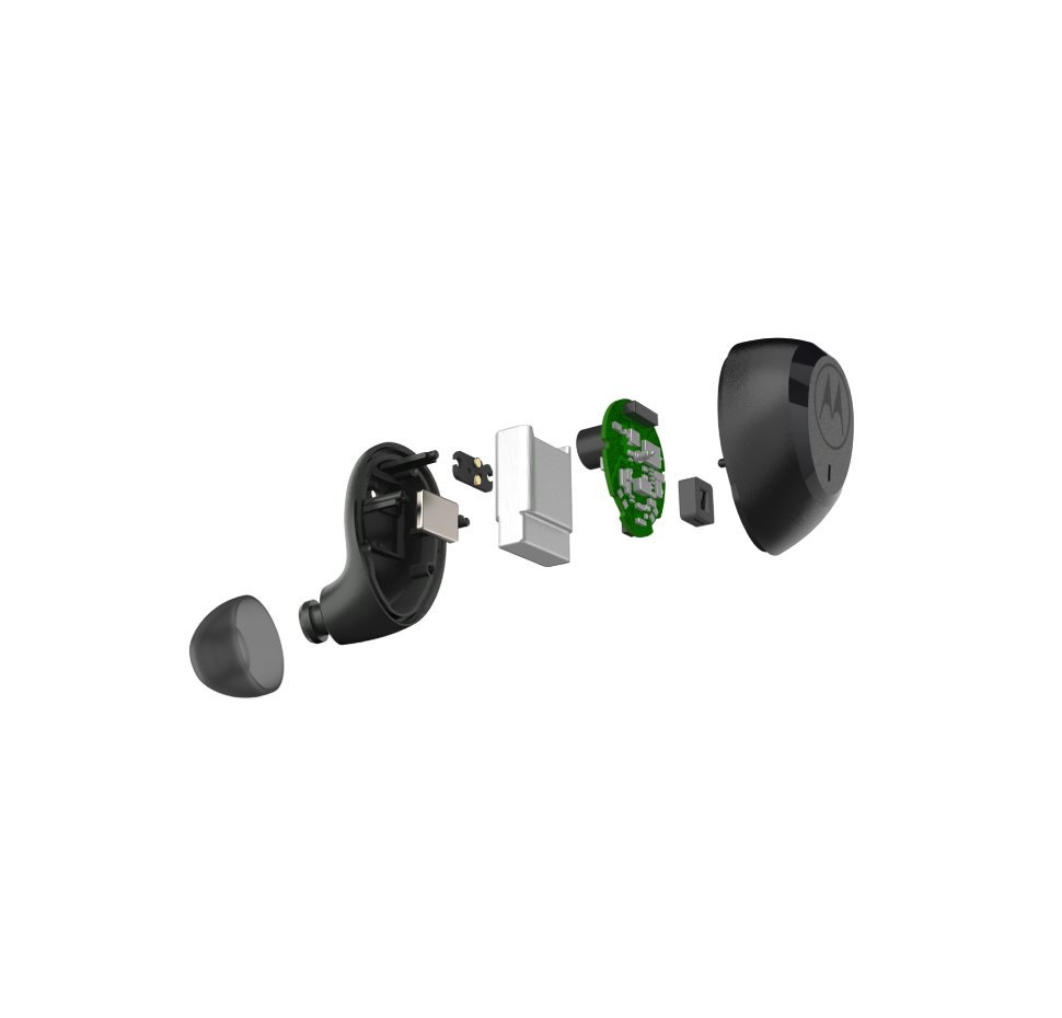 Moto Buds Charge,TWS In-Ear Headphones, Mobile Charge, IPX5