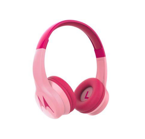 Squads 300, Over-Ear BT Headphones for Kids, Mic, Safe Listening