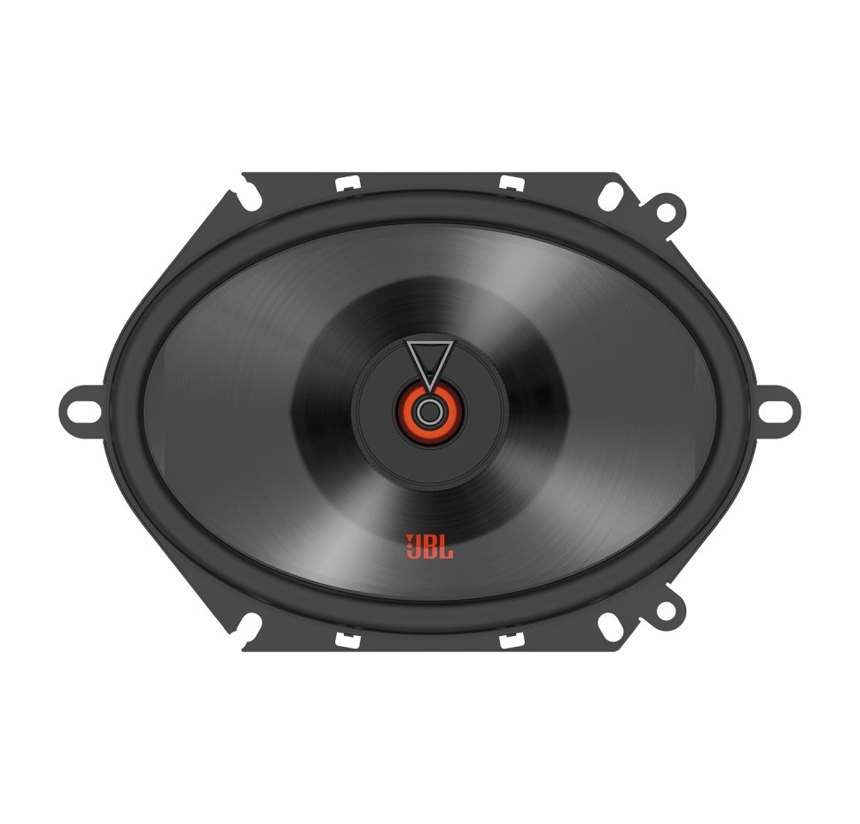 Club 8622F, Car Speakers, 6″x8″ / 5″x7″ coaxial, No Grill