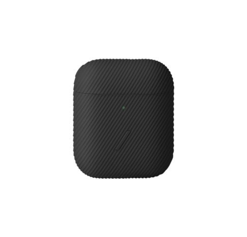 Airpod Curve Case, Textured Silicone, Wireless Charging