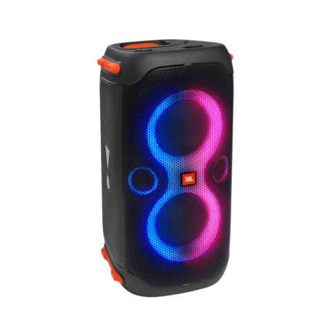 Partybox 110, Portable BT Party Speaker, IPX4, Lights, Wheels