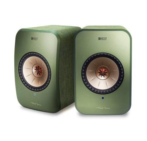 KEF LSX, ( Green )