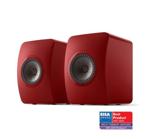 KEF LS50W II, ( Crimson Red )