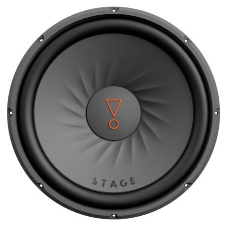 Stage 122D, Passive Car Subwoofer, 12″, Dual Voice Coil